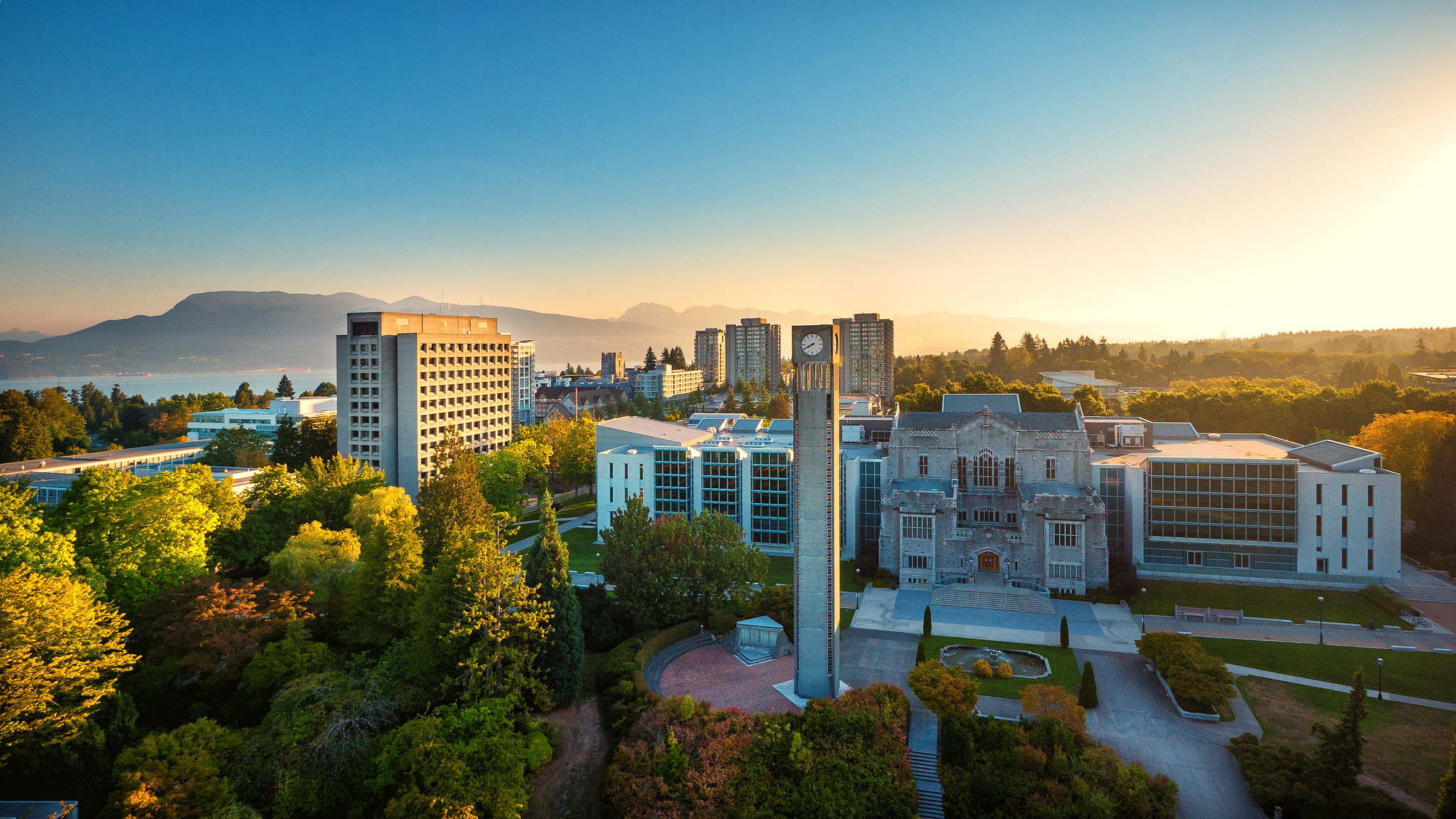 UBC at sunrise